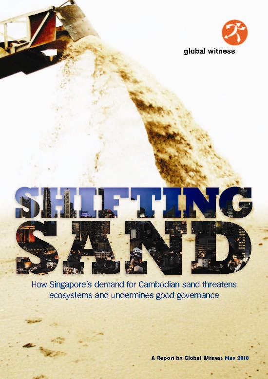 New Report released on Sand exports