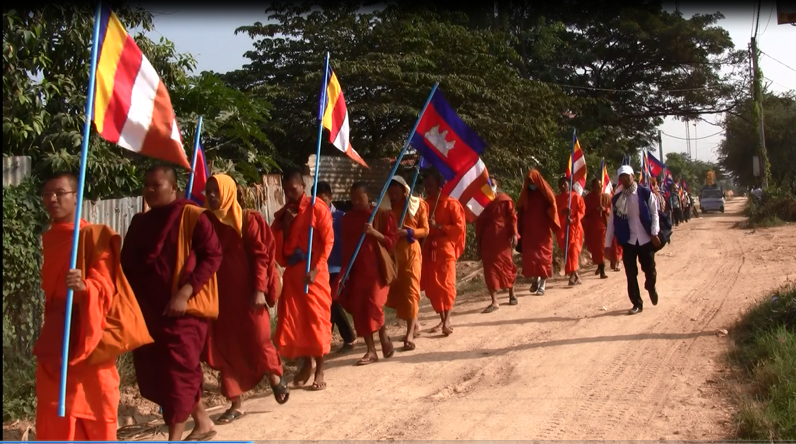Marching for Peace in Cambodia
