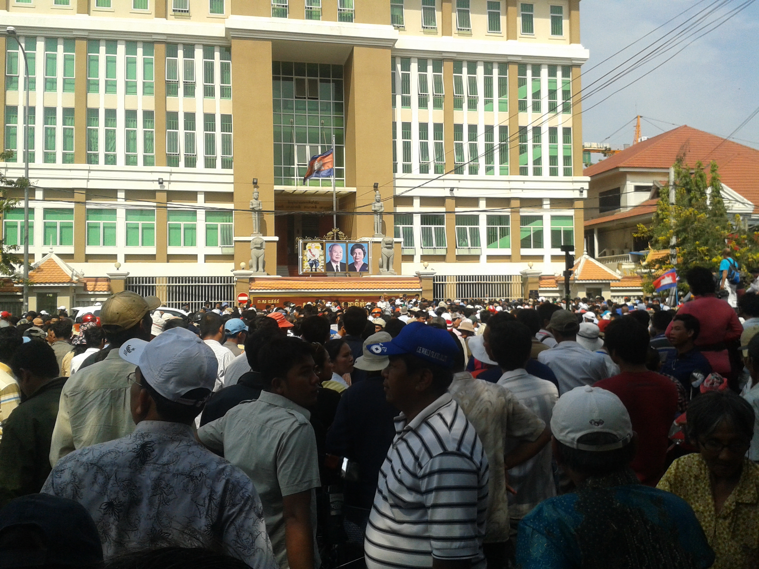 Human Right Situations in Cambodia Nowadays