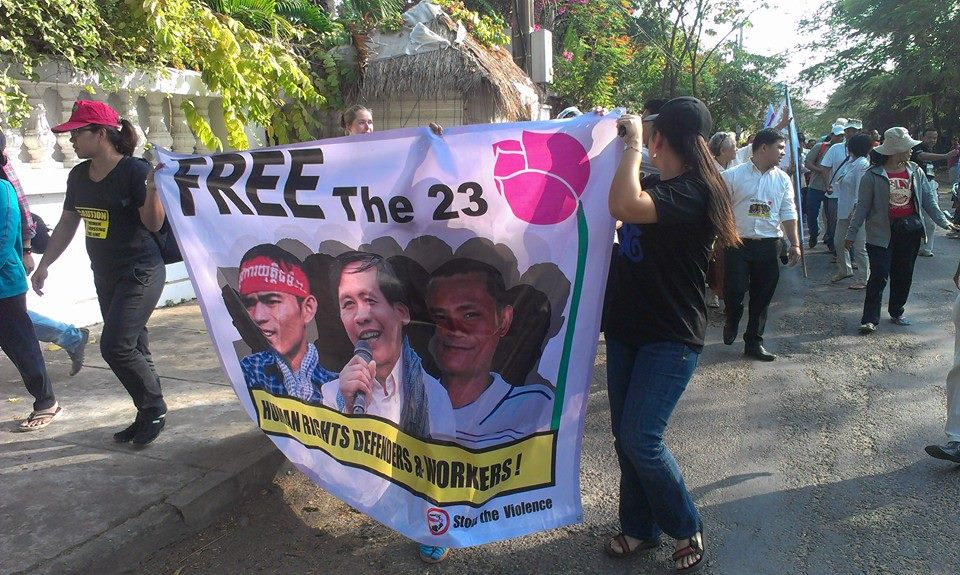CSO and Human Right Defenders Continue to Call for Releasing the 23