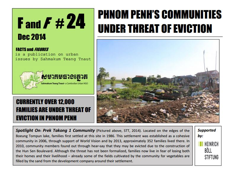 Phnom Penh's Communities Under Threat of Eviction