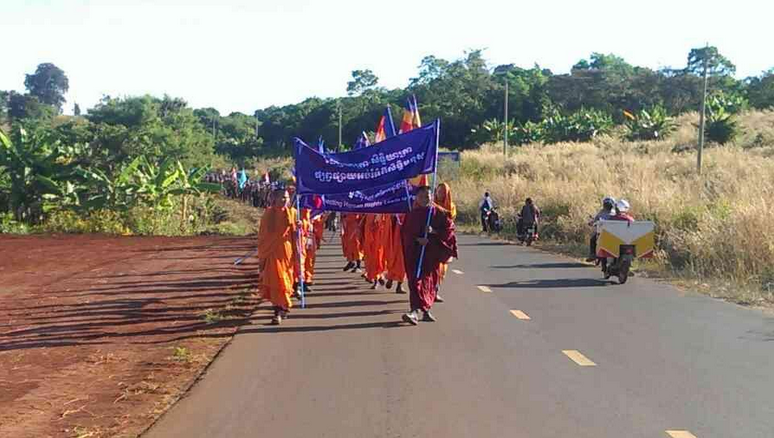 Ratanakiri March Gets Underway