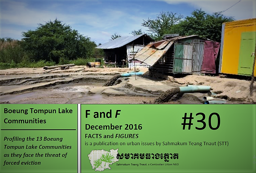 Fact and Figures #30: Profiling the 13 Boeung Tompun Lake Communities as They Face the Threat of Forced Eviction