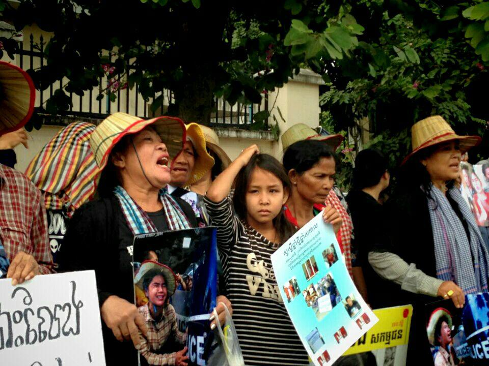 Boeng Kak's Petition to Demand Releases of Human Rights Defenders